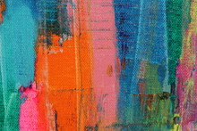 This Abstract Colorful Painted...