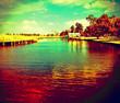 Leinwandbild Motiv View Of River