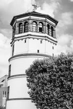 Schlossturm, The Palace Tower,  The Only Remnant Of The Dusseldorf Castle In Burgplatz, Dusseldorf, North Rhine Westphalia, Germany