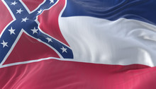 Flag Of American State Of Miss...