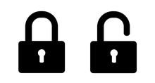 Set Of Lock Icons. Padlock Sil...