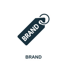 Brand Icon. Simple Element Fro...
