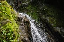 Gushing Waterfall, Costa Rica