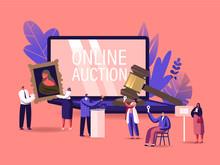 Online Auction Concept. Auctio...