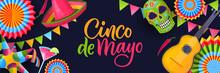 Cinco De Mayo Fiesta Banner, P...
