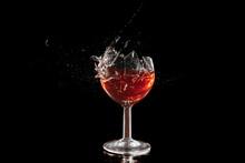 Verre De Cocktail Cassé