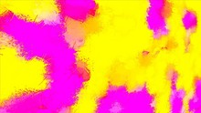 Beautiful Bright Summer Background Yellow And Pink Abstraction With Blots