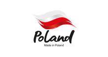 Made In Poland Handwritten Fla...