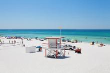 Destin Beach, Pensacola Beach, Florida, Emerald Beaches, Sugar Sand, Lifeguard Post, Panhandle, Tropics, Paradise
