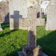 Grave On Cemetery