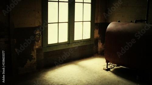 Obraz Room With Closed Window - fototapety do salonu