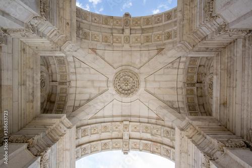 Photo Interior Of Triumphal Arch