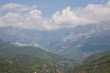 Landscape with mountains and clouds Alanya Turkey