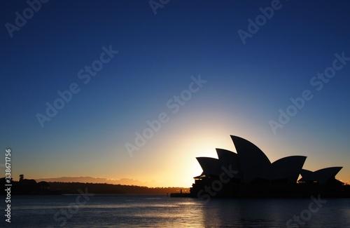 Fotografia Silhouette Of Sidney Opera House