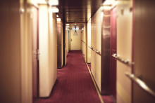 Corridor At Cruise Shipping , ...