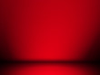 canvas print picture - Black and red background. Abstract red background, can be used for valentines or Christmas design layout, studio, web template, room and report with smooth gradient color.