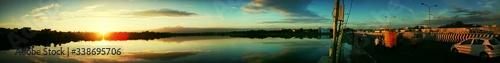 Highway At Sunset - fototapety na wymiar