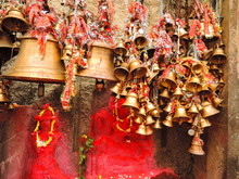 A Huge Number Of Bells Hung At...
