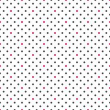 Polka Dot Seamless Pattern. Sm...