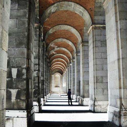 Fotografie, Tablou Archway Of Building