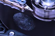 Fingerprint On A Hard Drive Cl...