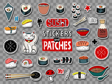 Sushi Stickers Collection
