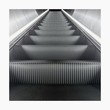 Lowe Angle View Of Empty Escalator