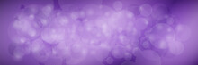 Modern Abstract Purple Banner ...