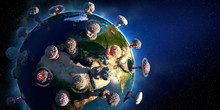The Concept Of Planet Earth Si...