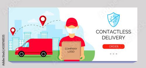 Foto Safe delivery service