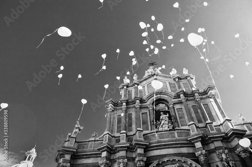 Fotografering Catania, festa di Sant' Agata