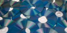 Compact Disc Blue Dvd Discs Cd...