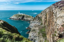 South Stack Lighthouse In Wales