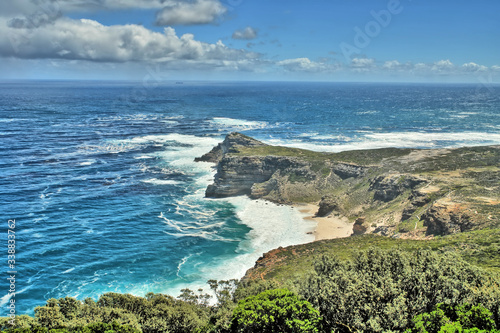The Cape of Good Hope -  a rocky headland on the Atlantic coast of the Cape Peninsula in South Africa Canvas-taulu