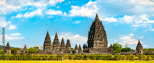 Fototapeta Prambanan Temple near Yogyakarta. UNESCO world heritage in Indonesia obraz