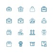 Editable 16 pack icons for web and mobile