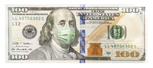 One Hundred Dollar Bill With A...