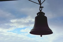 Close-up Of Old Bell