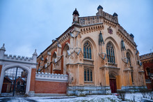 Beautiful Palace With Gothic W...