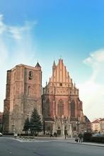 St Jacob And Agnes Church Against Blue Sky