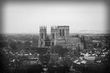 York Minster Amidst City Against Sky