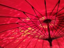 Full Frame Shot Of Japanese Traditional Umbrella