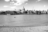 Fototapeta Londyn - Widok na katedre swetegyo Pawla , Londyn