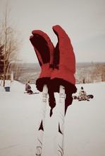 Gloves On Ski Poles