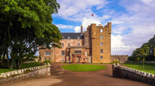 Mey, Thurso, Scotland / United Kingdom - August 30, 2014: Castle Of Mey In The North Of Caithness
