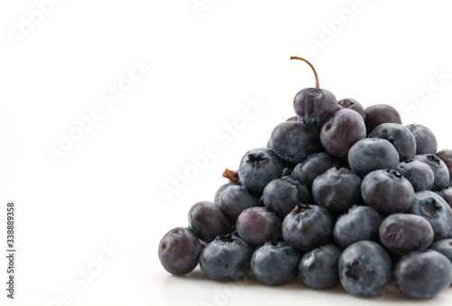 Fototapeta fresh blueberries obraz