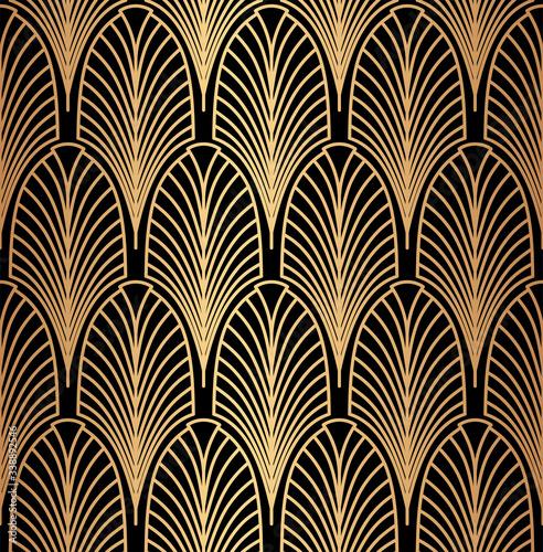 Tapety złote  abstract-geometrical-golden-seamless-pattern