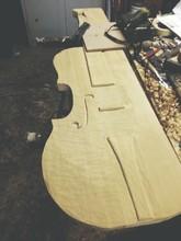 Incomplete Guitar In Workshop