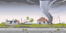 Tornado With Spiral Twists Des...