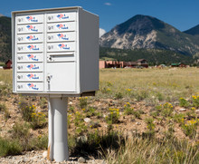 Metal Mailbox Container For Ru...